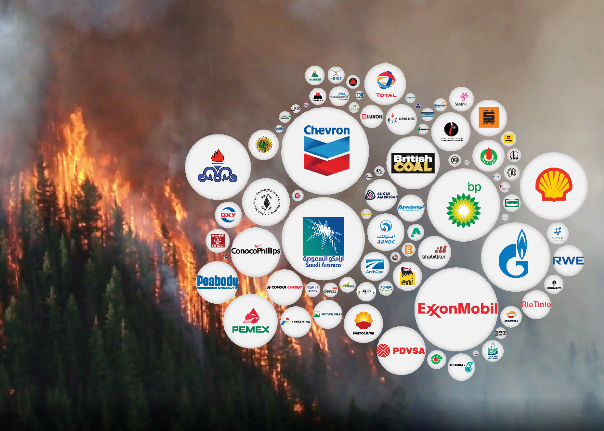 Fossil fuel companies and climate change