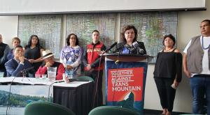 First Nations announce a new round of TMX legal challenges (Photo: Eugene Kung)